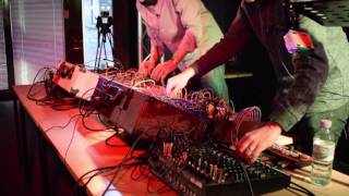 'In Tension' | d'Voxx (Live at the London College of Music) - Eurorack modular performance