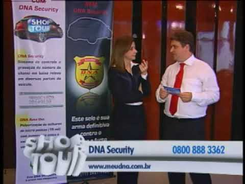 DNA Security no Shop Tour