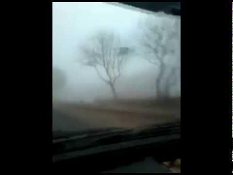 Misteriosa neblina en Paraguay después del eclipse lunar rojo