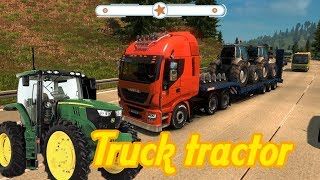 How to play truck with truck tractor #Truck #Toy #For kid