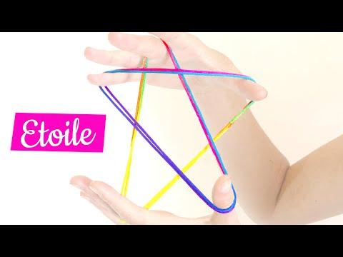 étoile - Figure De Ficelle - Tuto Français