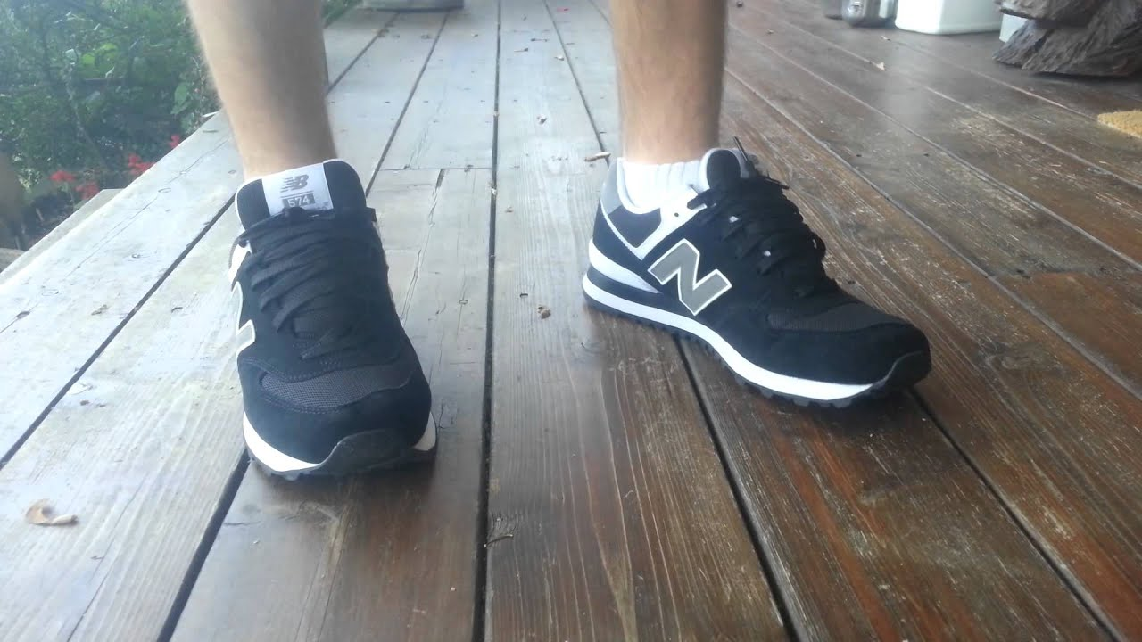 efb80905866 Black New Balance 574 Review With On-Foot - YouTube