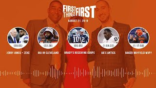 First Things First Audio Podcast(8.21.19) Cris Carter, Nick Wright, Jenna Wolfe | FIRST THINGS FIRST
