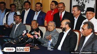 LIVE : Sidang media Mahathir Tun M selepas mesyuarat Majlis Tertinggi Parti Bersatu