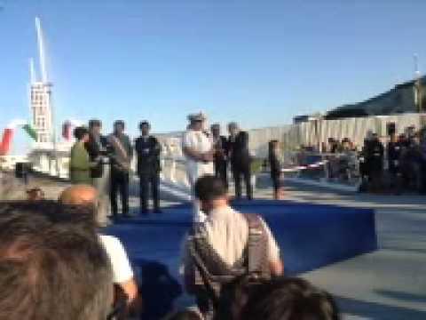 Inaugurazione Ponte Revel - Autorità e taglio del nastro