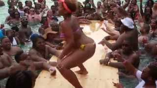 Dominican Republic Punta Cana Urban Paradise pool party 2014 Part III Memorial weekend