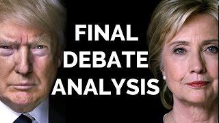 Trump v. Clinton: Who Won The Last Debate?