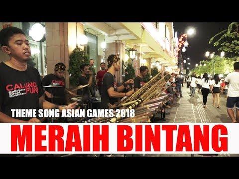 MERAIH BINTANG (THEME SONG ASEAN GAMES 2018) / CALUNG FUNK  PENGAMEN MALIOBORO YOGYA