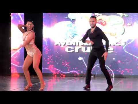 Jorge Contreras & Aubrey Ares at Aventura Dance Cruise 2015, Friday
