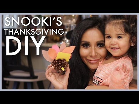 Snooki Thanksgiving DIY with Giovanna!