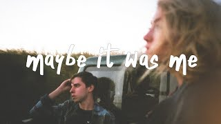 Sody - Maybe It Was Me (Lyric Video)