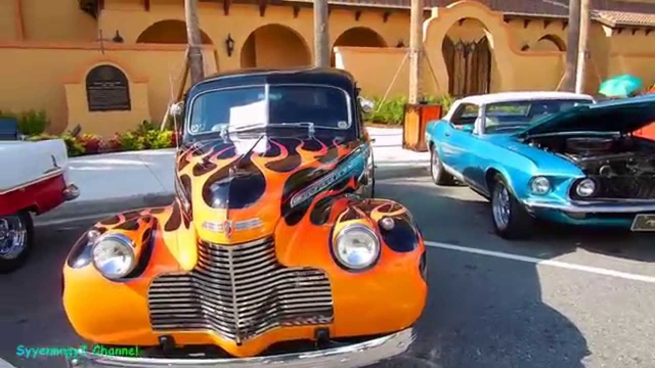 1946 Chevy flames - YouTube