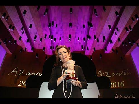 Premio Azorín de Novela 2016: Reyes Calderón