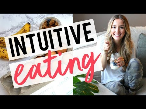 INTRO TO INTUITIVE EATING | How to Be a Happy Eater!