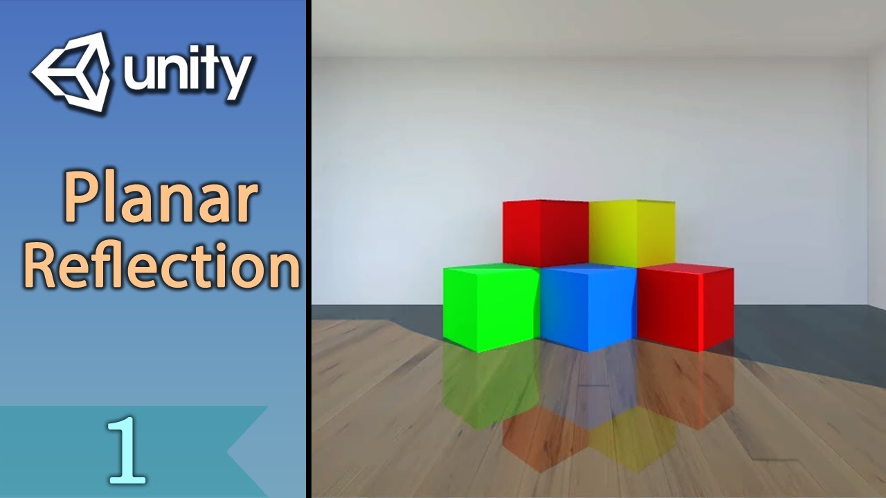 Planar reflection with Unity - Part 1/2