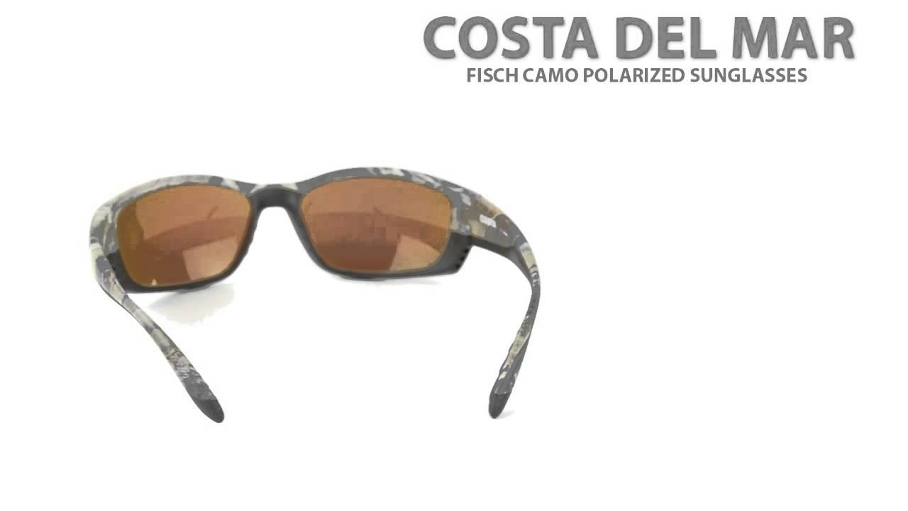 8d5a395f544f4 Costa Del Mar Fisch Camo Polarized Sunglasses - Mirrored 400G Lenses ...