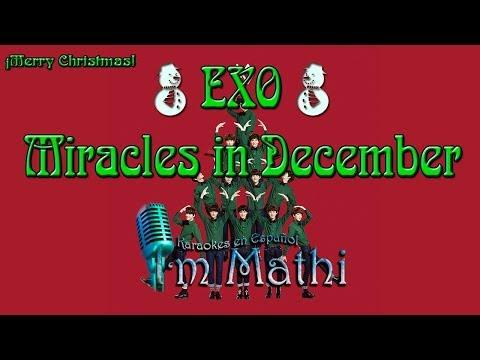 EXO (엑소) - Miracles in December [Karaoke español]