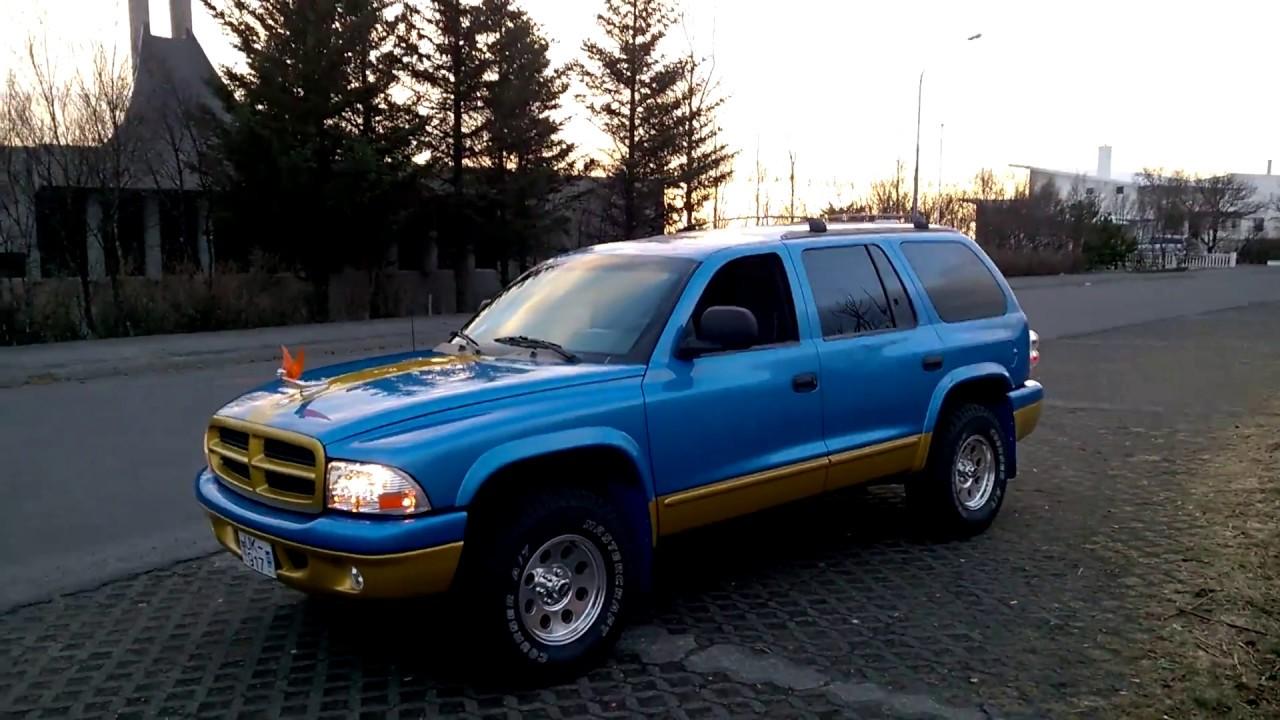 Iceland Best World Good Old 18 Year Dodge Durango 5 9l 300 Hp Youtube
