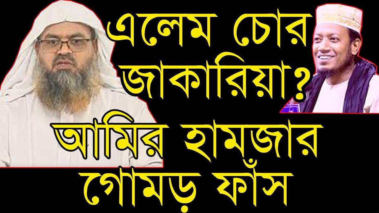 এলেম চোর জাকারিয়া! আমির হামজা কি? ছাত্র শিক্ষকের যুদ্ধ! Abu Bakar Zakaria | amir hamza | peaceful bd
