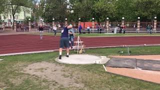 Дмитрий Карпук - толкание ядра - NRU20 21.44м