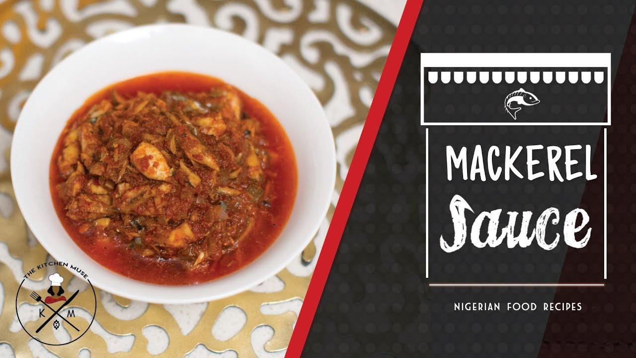 My Mackerel Fish Sauce Recipe - YouTube