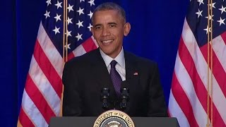 The President Speaks at the House Democratic Issues Conference