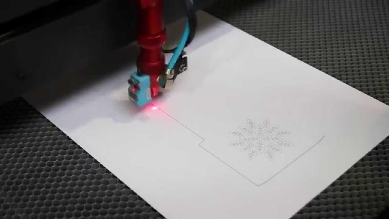Cudowna Cięcie papieru 280g/m - Plotery Laserowe Seron serii SL - YouTube AW96