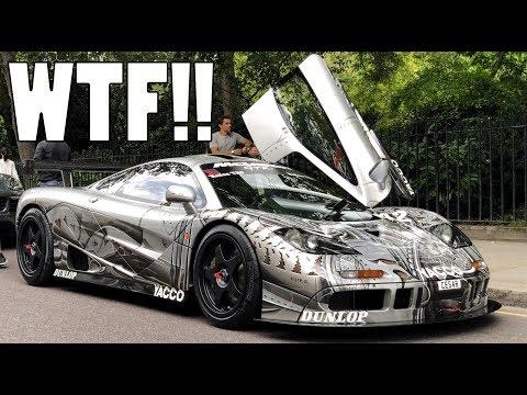 FINDING THE £10M MCLAREN F1 GTR IN LONDON!!