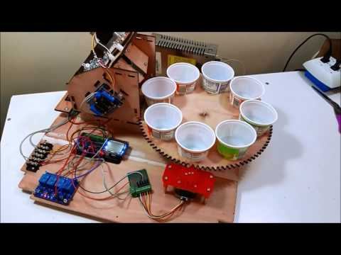 Automated Small Parts Counting Machine with Arduino