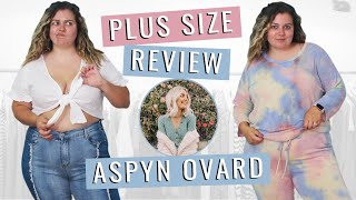 Brutally Honest Review of Aspyn Ovard's PLUS SIZE Clothing Line