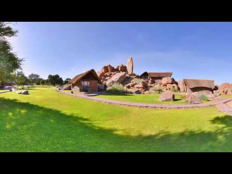 360 VR Video of Canyon Lodge, Gondwana Collection Namibia