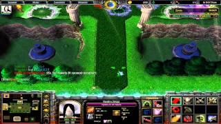 naruto vs bleach №6(warcraft 3 )v 2.0a