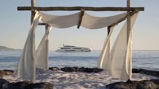 Super Yacht Wider 150 - Render