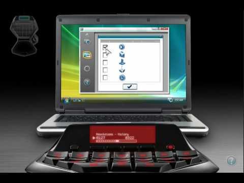 Logitech G13 Review - LCD Display Tutorial