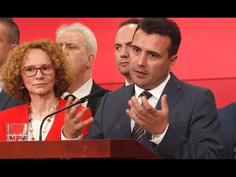 Macedonia agrees to change its name to end decades long dispute with Greece