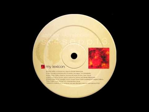 Sander Kleinenberg - My Lexicon  |Combined Forces| 1999