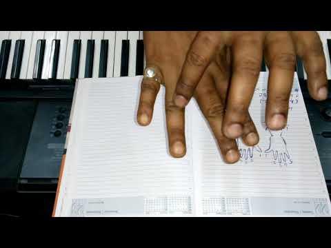 সহজ সঙ্গীত শিক্ষা সঙ্গে কিবোর্ড বাজানো //easy to learn music with key board,,
