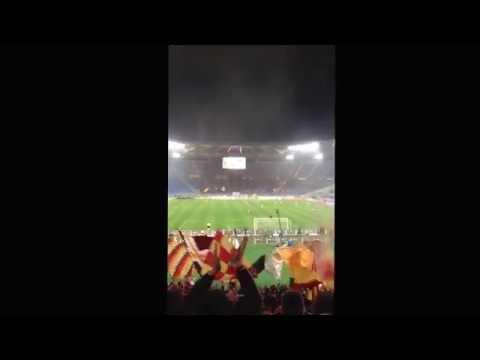 AS Roma 2-1 Torino - 25/03/14 - Quando l'inno s'alzera #RomaTorino #ASR #ASRoma