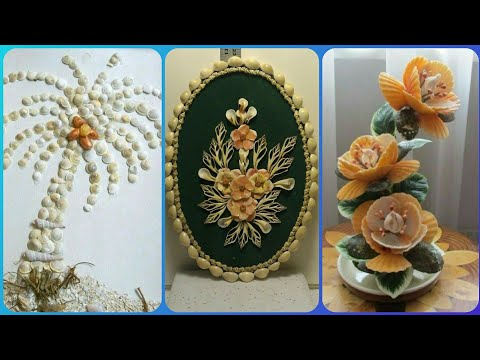 Sea Shell Craft Amazing Ideas||Beautiful Sea Shell Craft Ideas.
