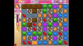 Candy Crush Saga Level 166 No booster clear (캔디 크러쉬 사가 166 레벨 공략)