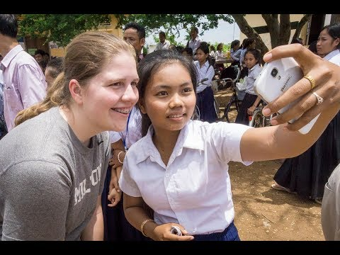 School in Rural Cambodia Donated by Milton Area High School