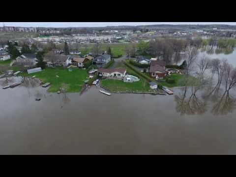Rockland Ont, May 7, 2017 flood