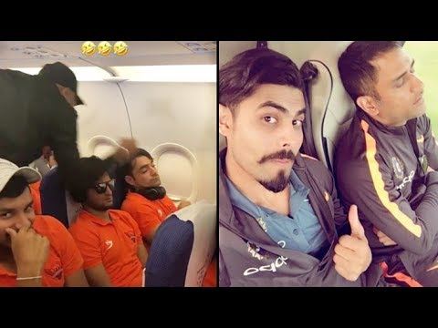 Funny Pranks on Teammates while they were Sleeping by Cricketers