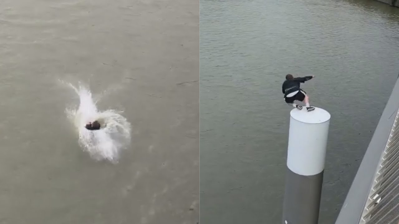 Water Challenge - Battling Jumping Fears