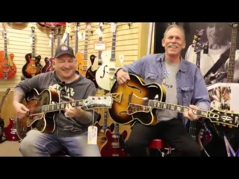 Bruce Forman and Josh Smith playing 2 Gibson Super 400s