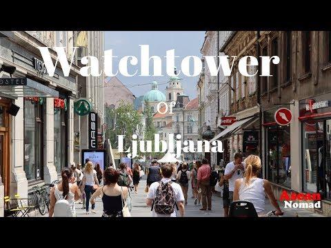 Watchtower Of Ljubljana. Ljubljana Slovenia. Eslovenia
