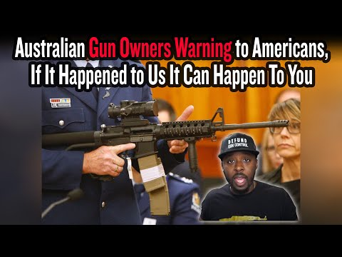 Australian Gun Owners Warning to Americans, If It Happened to Us It Can Happen To You