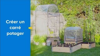 creer un carre potager avec kitchen garden castorama
