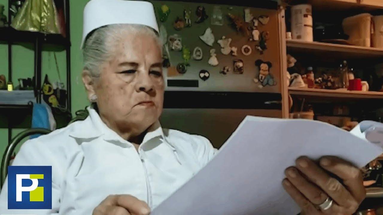 """""""No me da miedo"""": esta bisabuela de 75 años cumple el sueño de graduarse como enfermera"""