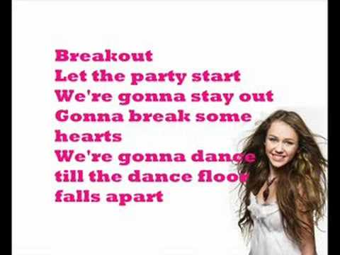 Miley Cyrus vs. Katy Perry - Breakout + lyrics (READ DESCRIPTION)